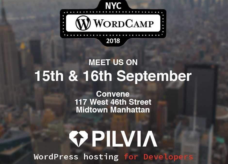 Pilvia at WordCamp NYC 2018